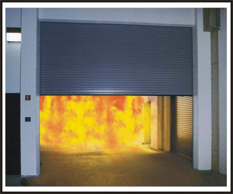 противопожарные ворота